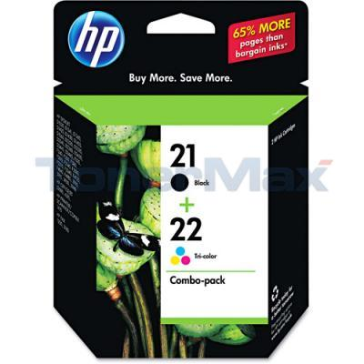 HP 21 22 PRINT CART CMYK COMBO PACK